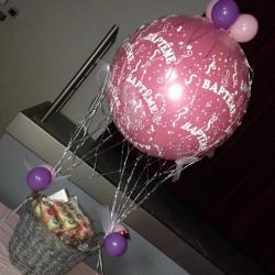 Montgolfière de ballons